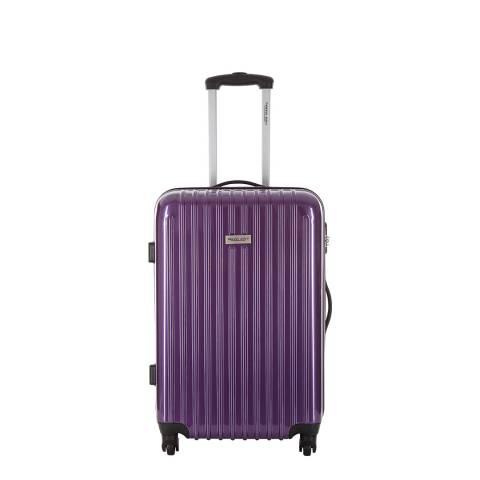 Travel One Violet Hardcase Spinner Cabin Suitcase
