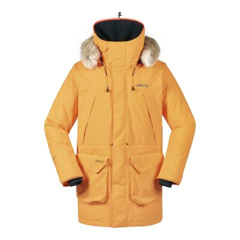 Musto Men's Orange Evo Arctic GTX Parka