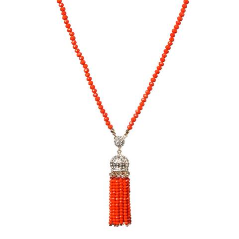 Amrita Singh Ankara Crystal Tassel Necklace