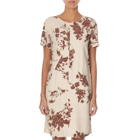 Belstaff Cream/Red Louella Dress