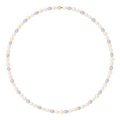 Just Pearl Multi Coloured Freshwater Pearl Necklace