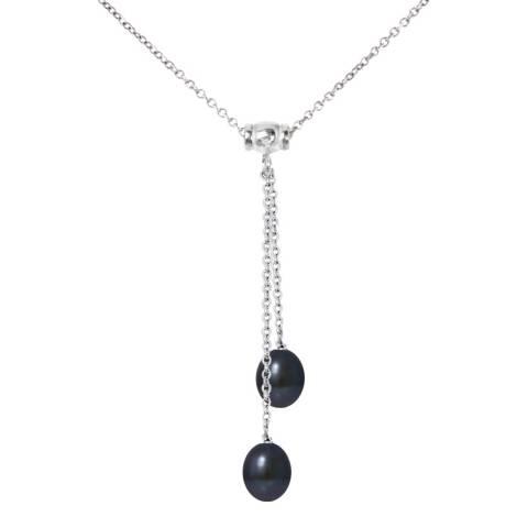 Mitzuko Necklace Duo 2 Real Black Pearls