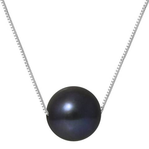 Just Pearl Black Pearl Necklace