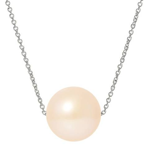 Just Pearl Natural Pink Pearl Necklace