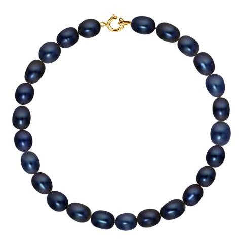 Just Pearl Black Freshwater Pearl Bracelet