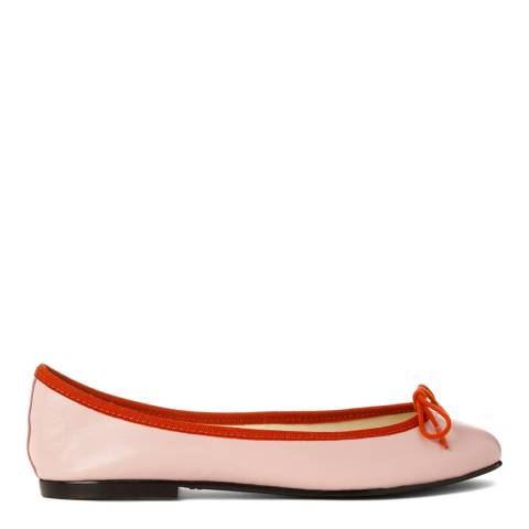 French Sole Nude Leather India Flats