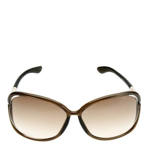 Tom Ford Women's Brown Raquel Sunglasses 63mm