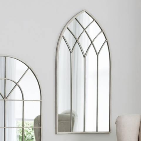 Gallery Cream Roebuck Mirror 95x50cm