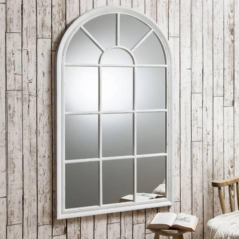 Gallery Fulshaw Mirror White 140 x 80cm