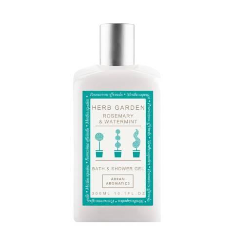 Arran Aromatics Herb Garden Rosemary & Watermint Bath/Shower Gel 300ml