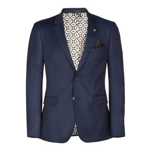 Ted Baker Navy Mason Debonair Plain Jacket