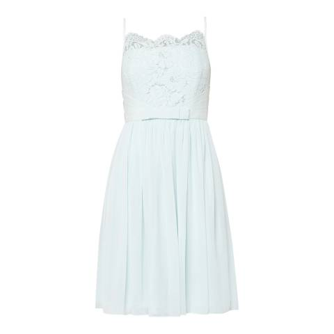Ted Baker Mint Mimee Lace Bodice Midi Dress