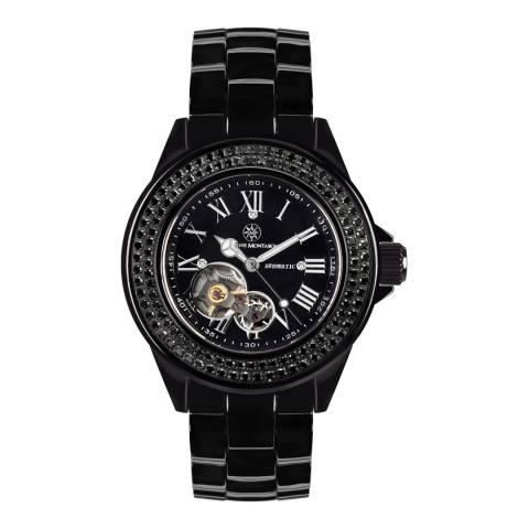 Mathis Montabon Women's Black Ceramic Watch