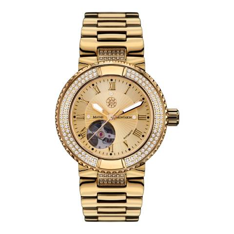 Mathis Montabon Women's Gold Stainless Steel Watch