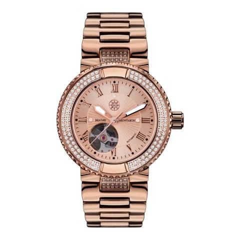 Mathis Montabon Women's Rose Gold Stainless Steel Watch