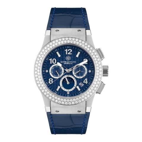 Mathis Montabon Women's Blue Leather Watch