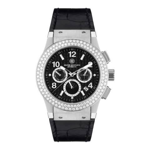 Mathis Montabon Women's Black Leather Watch