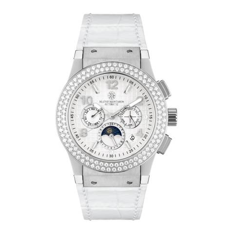 Mathis Montabon Women's White Leather Watch