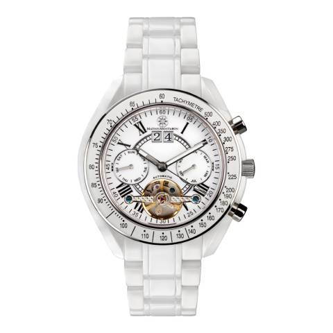 Mathis Montabon Men's White Ceramic Watch