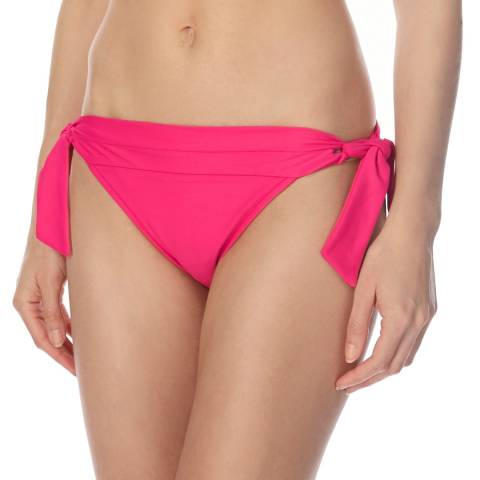 Seafolly Pink Tie Side Bikini Briefs