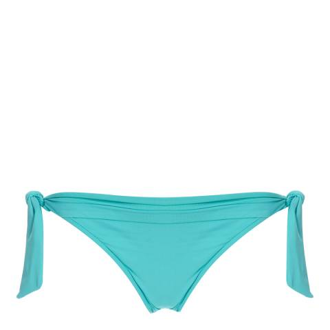 Seafolly Turquoise Green Goddess Tie Side Bikini Briefs