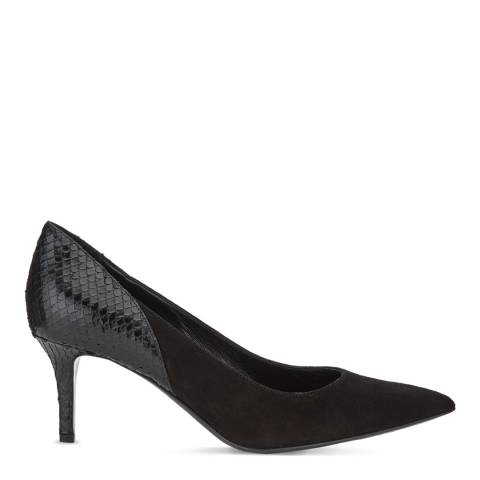 Jigsaw Womens Black Tilly Court Shoe
