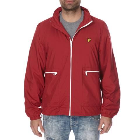 Lyle & Scott Red Lightweight Jacket