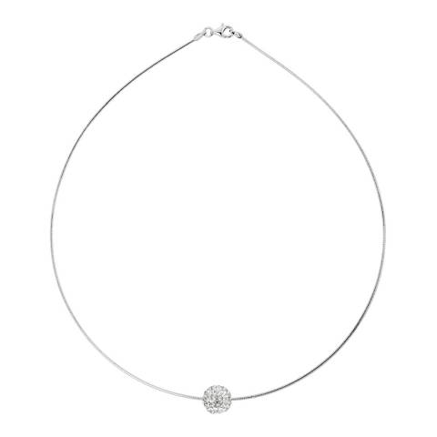 Deep Love White Crystal Necklace