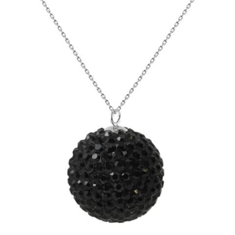 Deep Love Black Crystal Necklace