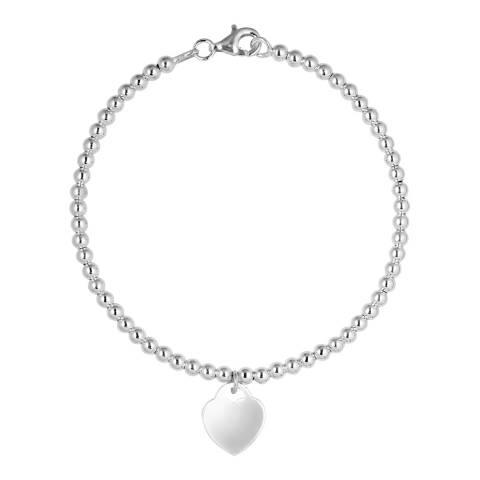 Wish List Silver Heart Charm Bracelet