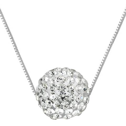 Wish List White Crystal Necklace