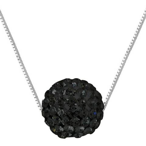 Deep Love Black Crystal Necklace