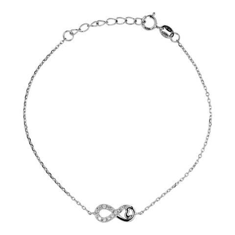 Wish List Silver Zirconia Bracelet