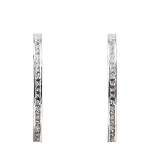 Wish List Silver Zirconia Earrings