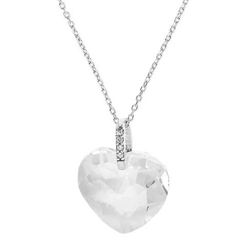 Wish List Silver Heart Necklace