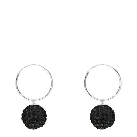 Wish List Black Crystal Earrings