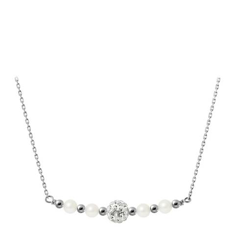 Wish List White Freshwater Pearl Necklace