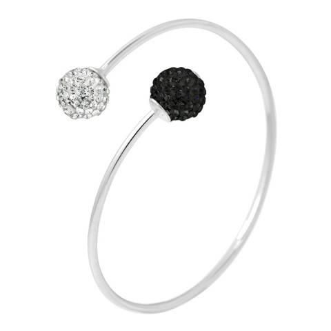 Wish List White/Black Crystal Bracelet