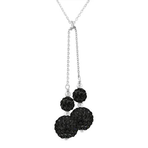 Wish List Black Crystal Necklace