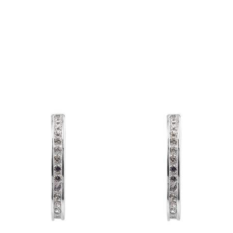 Wish List Silver Zirconia Earrings