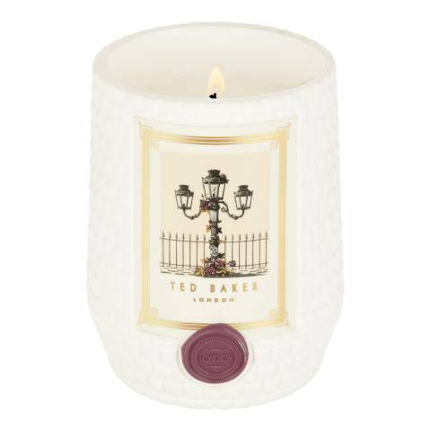 Ted Baker Wild Rose And Leather London Residence Scented Candle