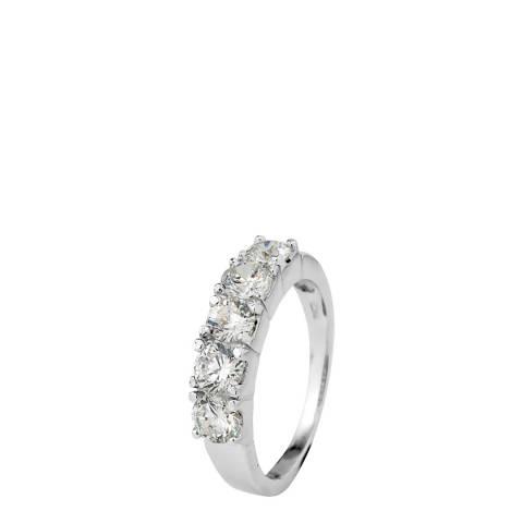 Wish List Silver Half Wedding Ring