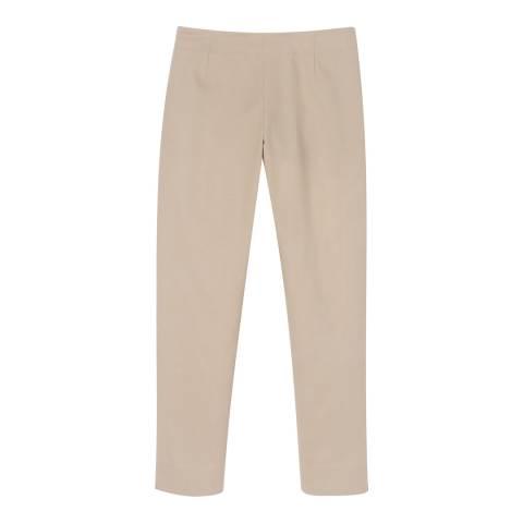 Winser London Rose Side Zip Capri Trousers