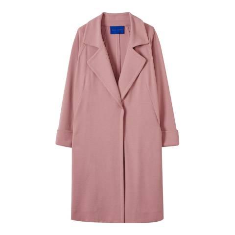 Winser London Vintage Rose Crepe Jersey A Line Coat