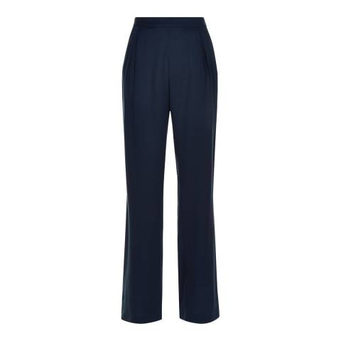 Jaeger Navy City Palazzo Trousers