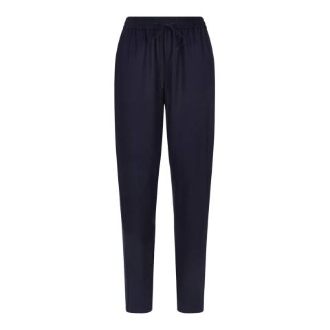 Jaeger Navy Embroidery Bohol Joggers
