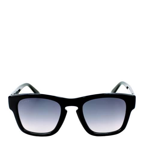 Gucci Women's Black/Dark Grey Gradient Sunglasses