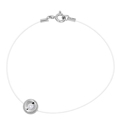 Dyamant Transparent Closed Diamond Bracelet 0.05cts