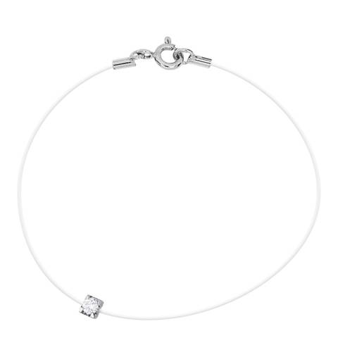 Dyamant Transparent String Claw Diamond Bracelet 0.05cts