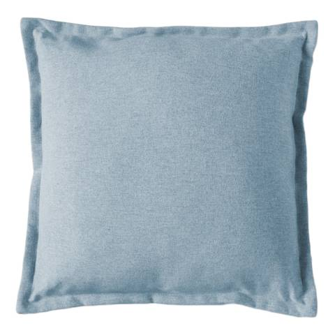 Gallery Turquoise Two Tone Plain Cushion 45x45cm